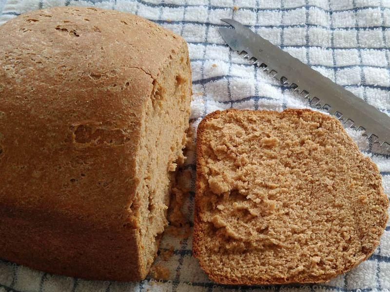 2 lb Low-sal Whole Wheat Bread