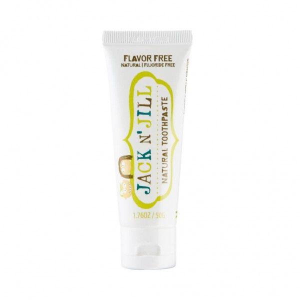 Jack N' Jill Natural Flavor Free Toothpaste