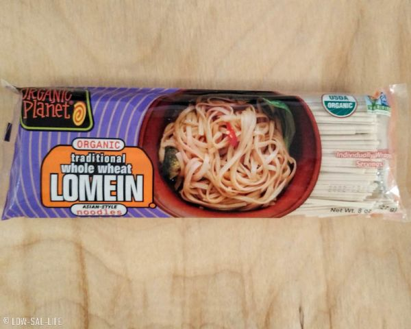 Organic Planet Whole Wheat Lomein Noodle
