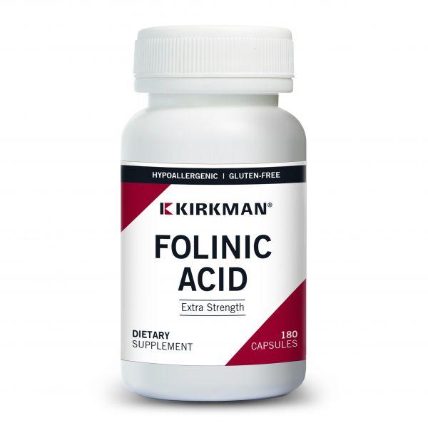Kirkman Labs Folinic Acid (calcium folinate) 800mcg