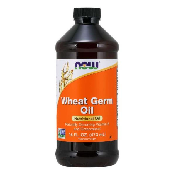 Wheat Germ Oil, Now Supplements