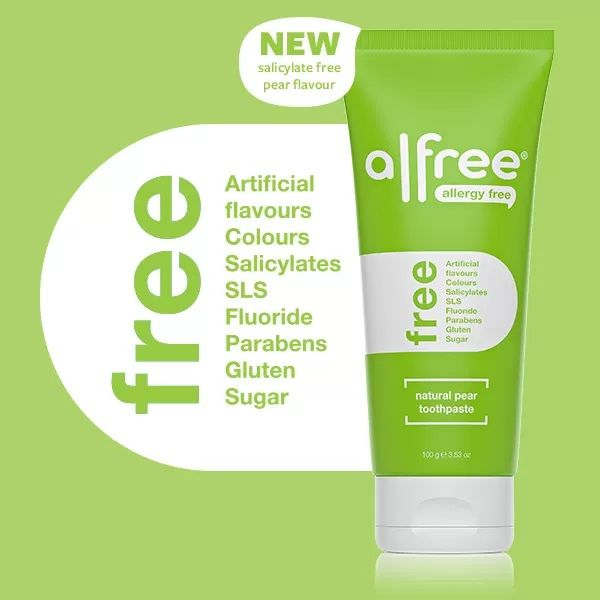 Alfree pear toothpaste