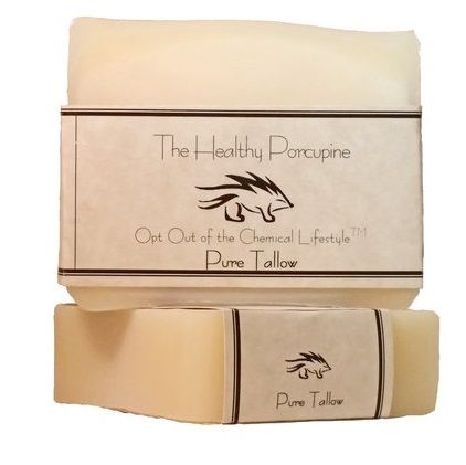 The Healthy Porpcupine: Pure Tallow Soap