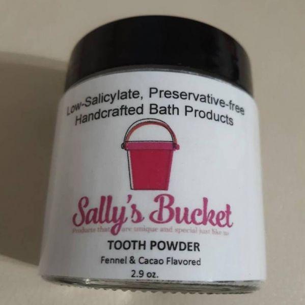 Sally's Bucket Tooth Powder